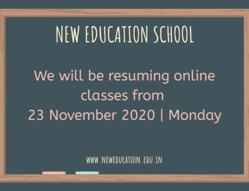 Online Classes from 23 Nov 2020