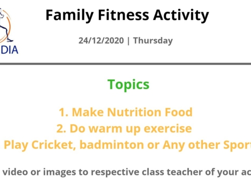 Family Fitness Activity